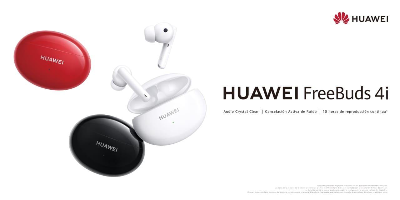 Con los nuevos Freebuds 4i de Huawei disfruta del mejor sonido a donde vayas