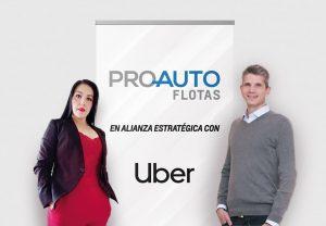 Proauto firma alianza estratégica con Uber en beneficio de los socios conductores