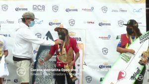 Silvana Lima y Lucca Messinas ganan el  Corona Open Montañita Surf City en Ecuador