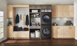 LG WashtowerTM se eleva con una experiencia de lavandería sublimemente conveniente