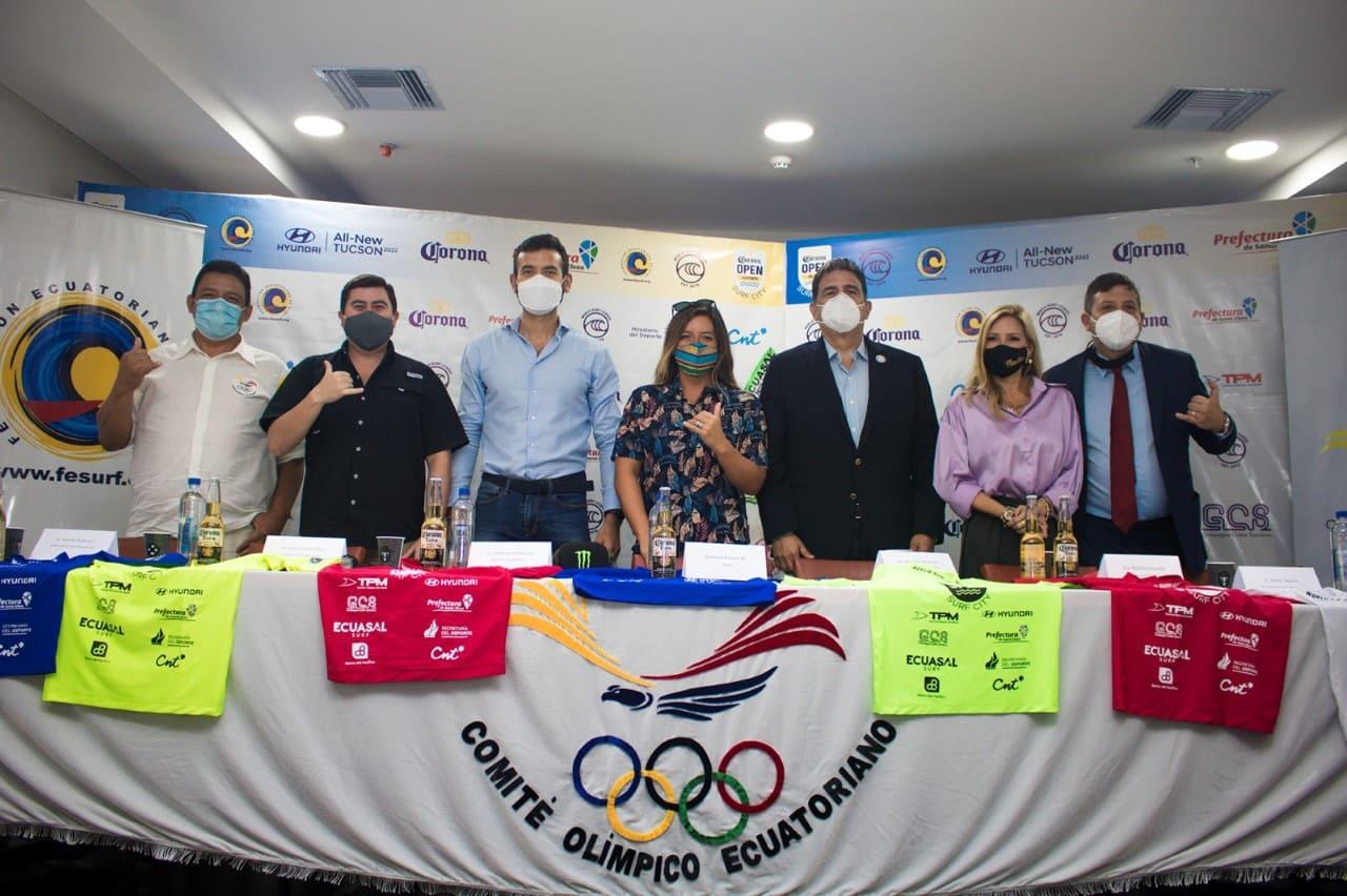 """Torneo Internacional de Surf """"WSL Corona Open"""" se desarrollará en Montañita y Salinas"""