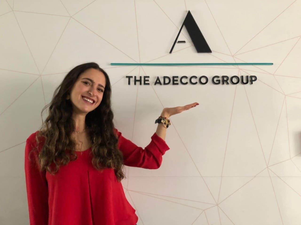La ecuatoriana Camila Loaiza es la CEO por un mes de Adecco Ecuador y Colombia