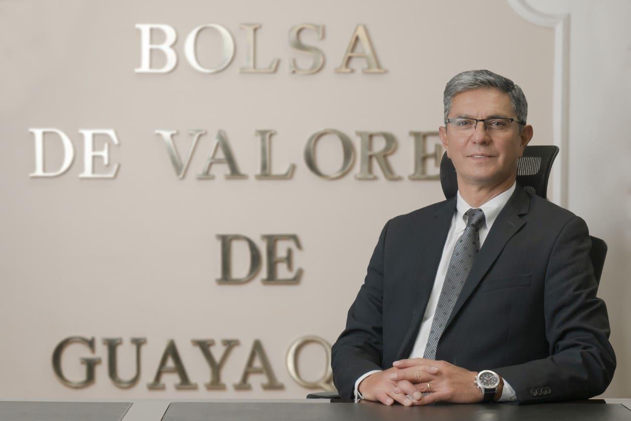 La Bolsa de Valores de Guayaquil designa a Carlos Ocampo como su nuevo Gerente General