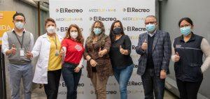 Más de 4000 personas fueron vacunadas en el sur de Quito por la empresa privada
