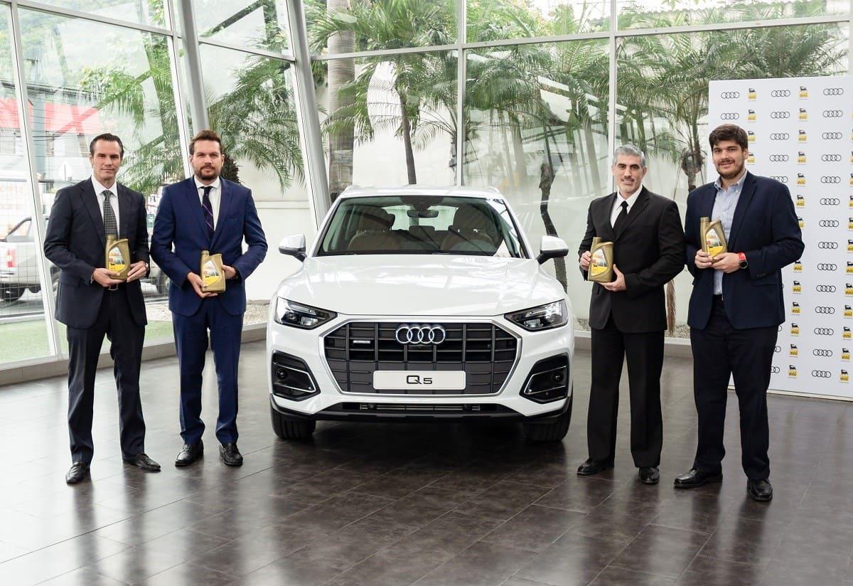 El lubricante italiano Eni firma alianza estratégica con Audi Zentrum Guayaquil