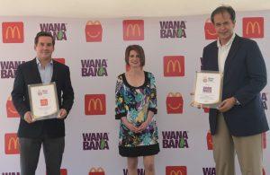 McDonald's incluye a WanaBana en su Cajita Feliz,  un snack saludable producido en Ecuador