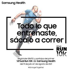 ¿Cómo participar en la carrera virtual 10K de Samsung?
