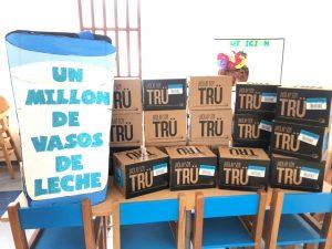 AGSO realizó la segunda entrega del millón de vasos de leche a diferentes Centros Infantiles