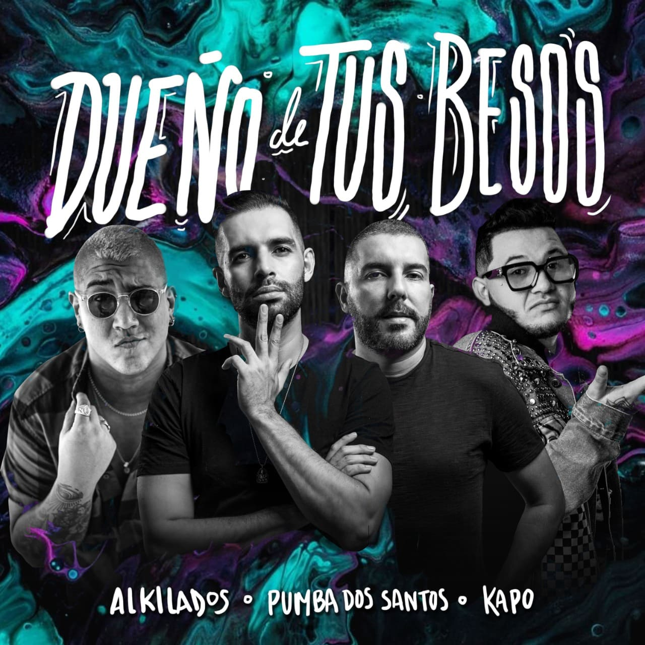 """Alkilados presenta su sencillo """"Dueño de tus Besos"""" junto a Pumba Dos Santos y Kapo"""