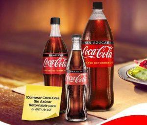 Coca Cola promueve reto en redes sociales para incentivar el uso de envases retornables