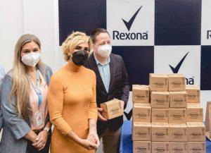 Unilever y Rexona contribuyen al plan de vacunación nacional por la salud de los ecuatorianos