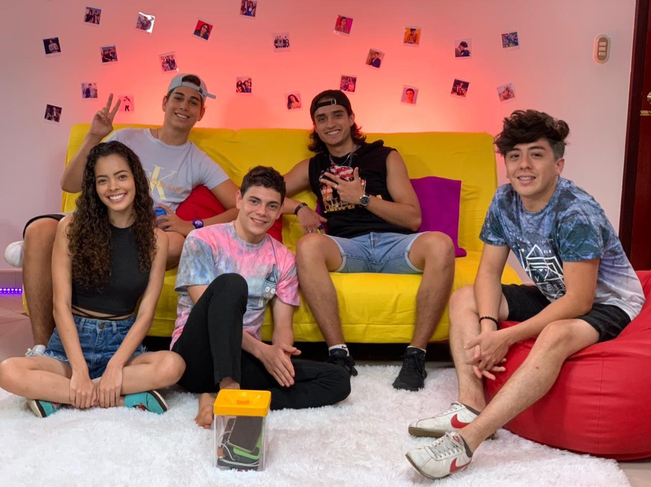"""""""La Casa F"""", el primer reality de Influencers en Ecuador"""