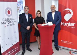 Hunter y CasaPlan MotorPlan firmaron un convenio de cooperación interinstitucional