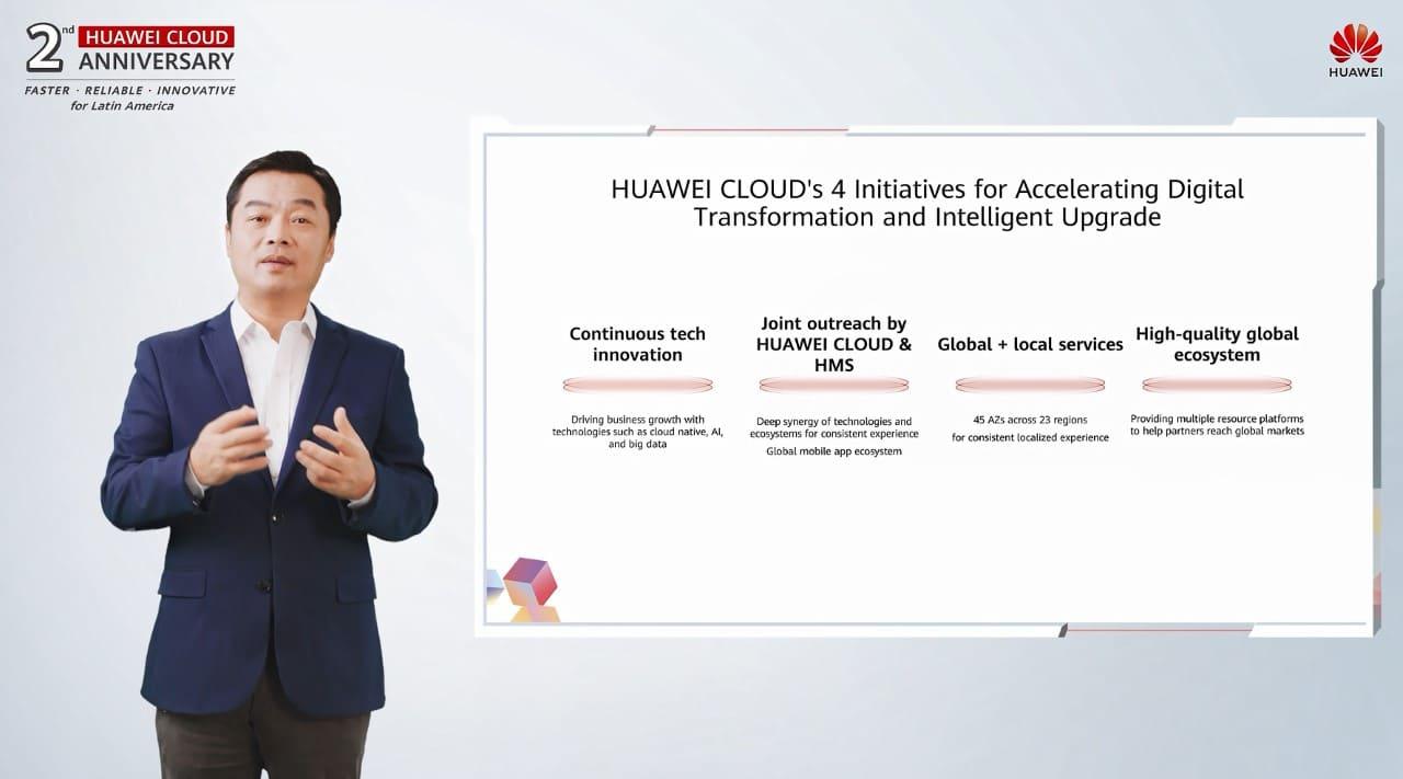 Huawei Cloud llega a Latinoamérica para apoyar el combate del Covid 19 y protección ambiental