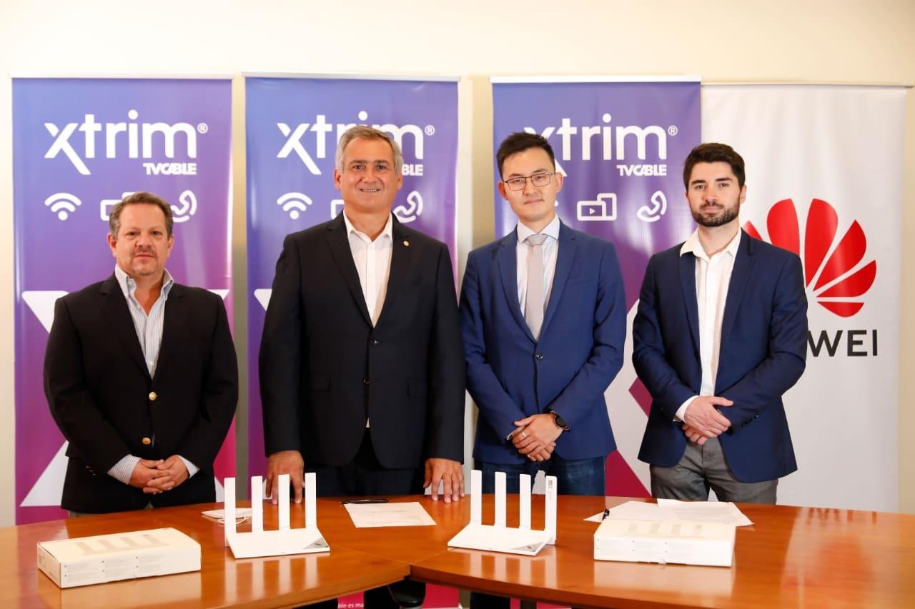 Huawei se une con Xtrim TVCable para impulsar la conectividad en el país
