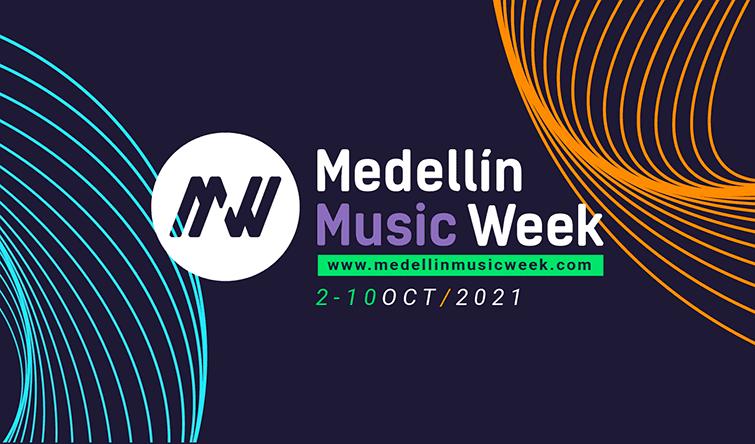 Llega la tercera edición del Medellín Music Week 2021 desde el 2 al 10 de octubre