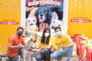Supermercados Santa María apoyando de corazón a la Fundación Lucky