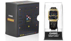 Casio lanza modelo de colaboración PAC-MAN con un estilo divertido y retro en un reloj digital