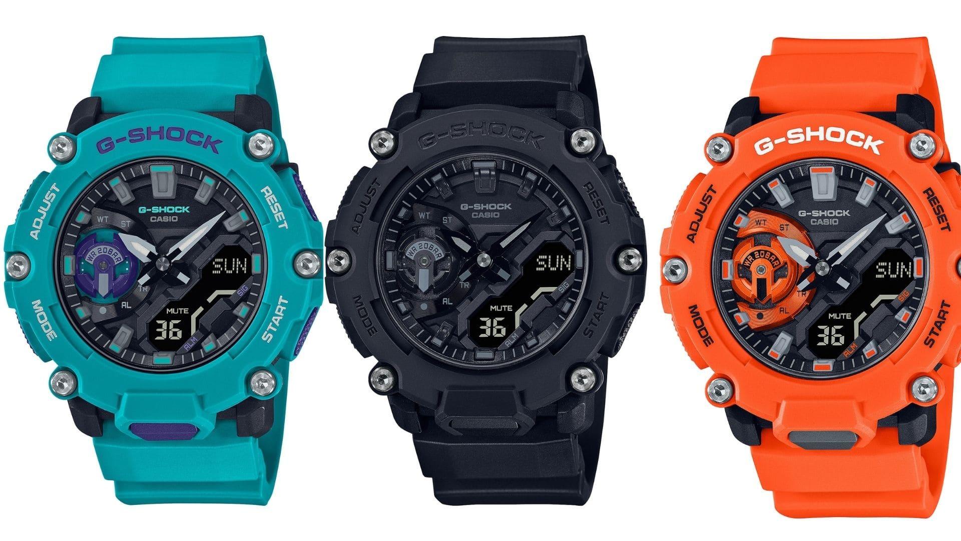 Refuerza tu Estilo con la nueva familia de relojes indestructibles de G-SHOCK